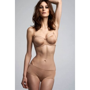 Marlies Dekkers Space Odyssey 12cm brazilian Shorty glossy camel