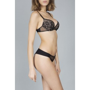 Lejaby Baisers de Paris Push Up BH schwarz