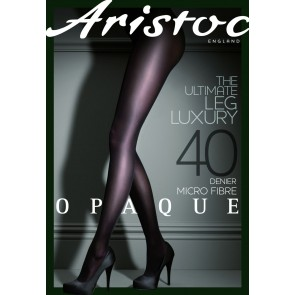 Aristoc Opaque 40D Microfibre Tights black