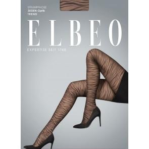 Elbeo Strumpfhose Urban Zebra schwarz