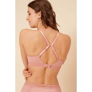 Simone Perele Confiance T-Shirt BH schwarz perfecto pink