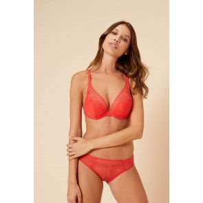 Simone Perele Citadine Triangel Push Up BH flamingo