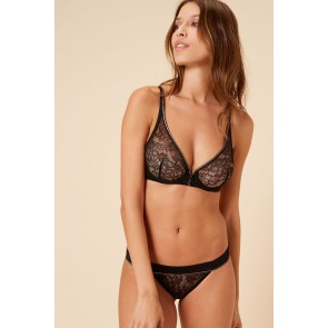 Simone Perele After Work Triangel Vollschalen BH schwarz