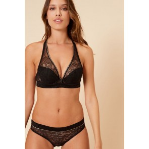 Simone Perele After Work Triangel Push Up BH schwarz