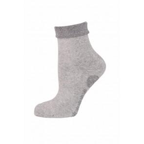 Elbeo ABS-Socke grau melange
