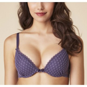 Passionata Sweet Love Push UP BH smokey violet