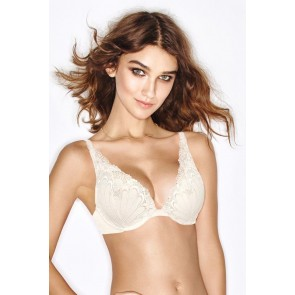 Wonderbra Refined Glamour Push UP Dekollete BH ivory